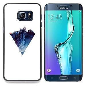 SKCASE Center / Funda Carcasa protectora - Polígono Montaña;;;;;;;; - Samsung Galaxy S6 Edge Plus / S6 Edge+ G928