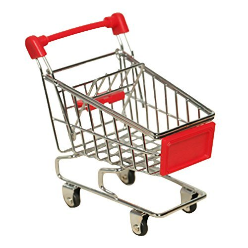 Hecoribe Lovely Parrot Bird Supermarket Shopping Cart Kids Intelligence Growth Box Funny Toy - Market New Shopping