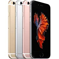 Apple iPhone 6s, 4,7in Display, SIM-Free, 64 GB, 2015, Space Grau (Refurbished)