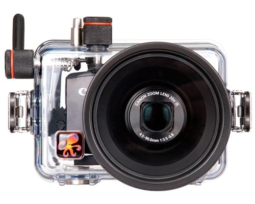 Ikelite 6148.28 Underwater Camera Housing, Clear