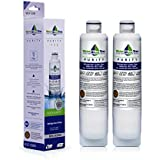 DA29-00020B Samsung compatible Refrigerator Replacement Water Filter - WLF- 20B, also fits DA29-00020A, HAF-CIN EXP, 46-9101, Twin-pack