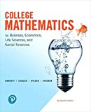 img - for College Mathematics for Business, Economics, Life Sciences, and Social Sciences (14th Edition) book / textbook / text book