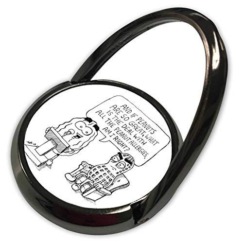 3dRose Travis ECK - Art - Roasted Peanut - Phone Ring ()