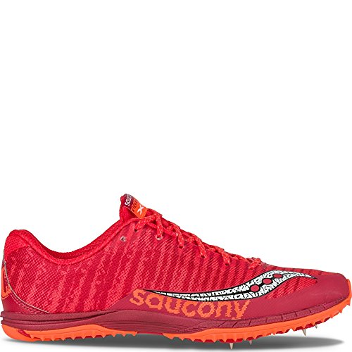 Saucony Men's Kilkenny XC5 Cross-Country Shoe Red | Vizipro Orange explore cheap online clearance 2014 newest clearance explore fashionable online 8B2ub5lAgR