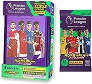 2021-22 Panini Adrenalyn Premier League Cards - Purple Mega Tin + Bonus Promo Pack (53 Cards + César Azpilicue