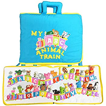 My Abc Animal Train Travel Bag