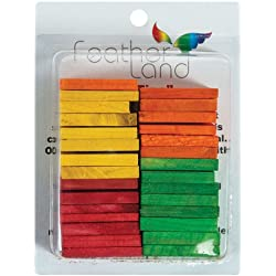 Paradise 1-1/2-Inch by 2-1/4-Inch Wood Slats Bird Toy