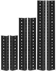 Reliable Hardware Company RH-8-SRR-A Rack Rail, Black