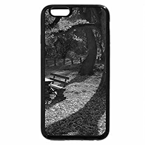 iPhone 6S Case, iPhone 6 Case (Black & White) - At Rest