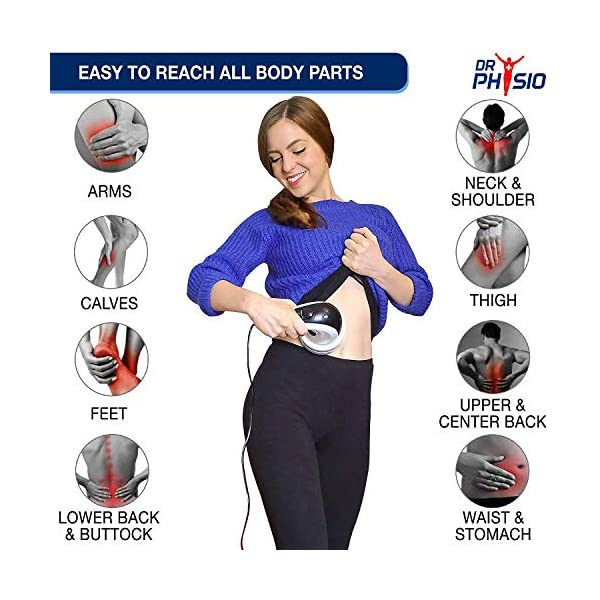 51 9nLRpPWL Dr Physio Electric Full Body Massager For Pain Relief of Back, Leg & Foot