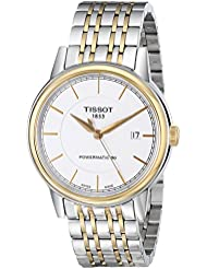 Tissot Mens T0854072201100 T Classic Powermatic Automatic Two-Tone Watch
