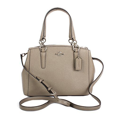 Coach Christie Carryall in Crossgrain Leather