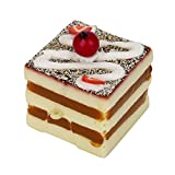 USHOT Clearance Bread Square Fruit Cake Squishy Slow Rising Cream Scented Decompression Toys