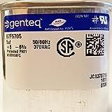 Genteq GENTEQ - C305L / 97F5705 GE Capacitor Oval 5 uf MFD 370 Volt 97F5705 (Replaces Old GE# Z97F5705, 97F95702, Z97F5702), 5uf 370 Vac(VAC), 5X370 Run Capacitor