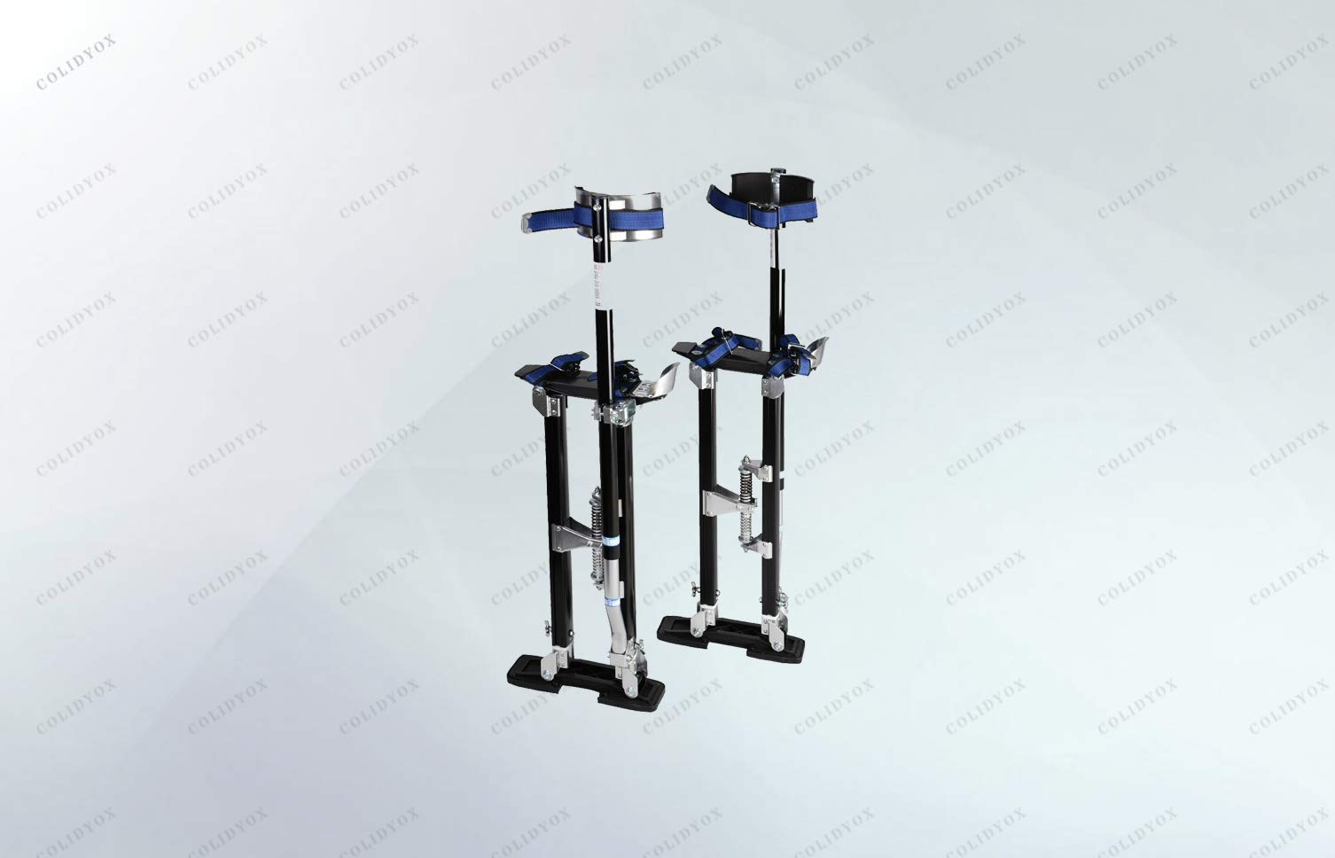 COLIDYOX_Brand new and ergonomic stilt,perfect tool to help you save a lot of time,industrial grade aluminum alloy,light-weight and durable,simple adjustment design