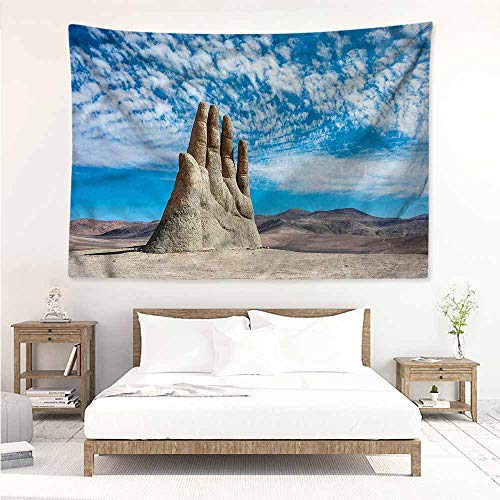 - Sunnyhome High-end Quality Tapestry,Monument Famous Sculpture Landmark,Tapestry for Home Decor,W71x59L