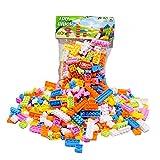 Rrimin 144pcs Plastic Building Blocks Bricks Children Kids Educational Puzzle Toy