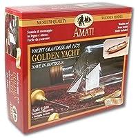 Amati 1350. Kit yate de oro en una botella