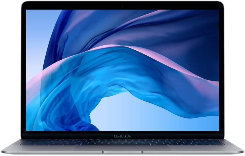 "Apple Macbook Air 13.3"" - Core i5, 8GB RAM, 256GB SSD, Space Gray - MVFJ2LL/A 2019 (Renewed)"