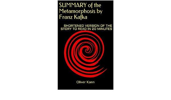 metamorphosis by franz kafka summary