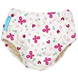 Charlie Banana Reusable Swim Diaper, Butterfly, X-Large