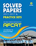 AFCAT Solved Papers and Practice Sets 2017 (Old Edition)