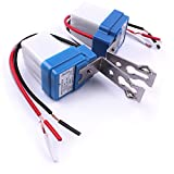 Atoplee 5pcs AC DC 12V 10A Photo Control Auto On Off Photocell Light Sensor Switch