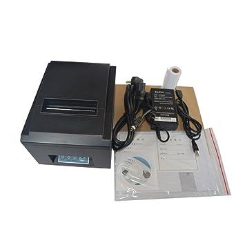 TOPQSC POS Impresora térmica de Recibos Cuadrados USB Ethernet/LAN ...
