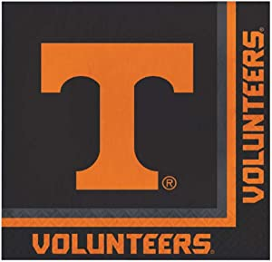 Tennessee Volunteers Lunch Napkins, 60 Count