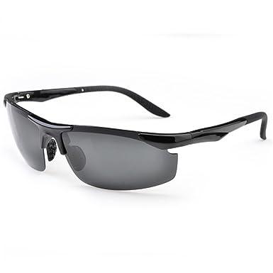a75886718c Z-P Men s Sports Bicycle Aviator TR90 Memory-metal Polarized Sunglasses