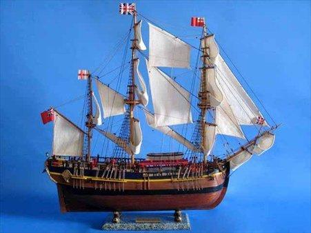 Endeavour Model Ship - 9