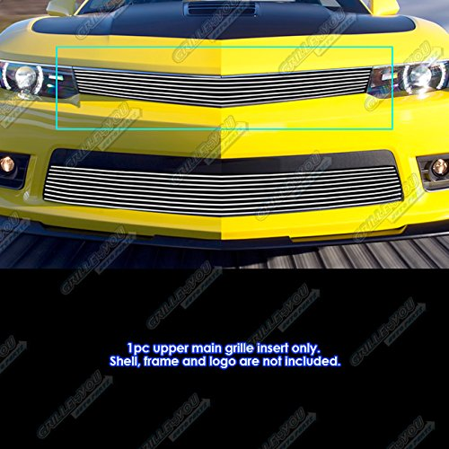 Billet Grille Package - APS Fits 2014-2015 Chevy Camaro SS/LT/LT RS Package Billet Grille Inserts #C65995A