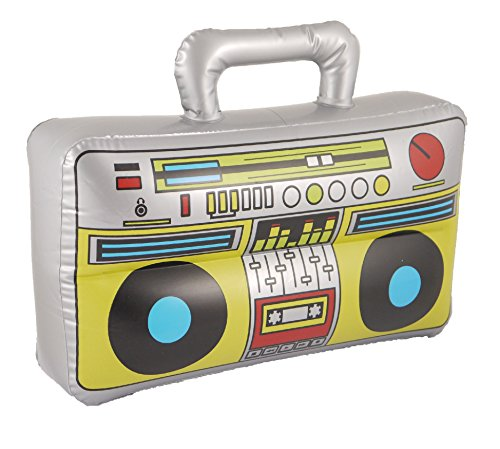 Henbrandt Inflatable/Novelty Blow Up Boom Box Music Player