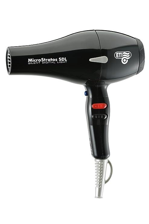"""eti secador de pelo """"micro Stratos Sdl Negro 2300 – 2500 W 230"""