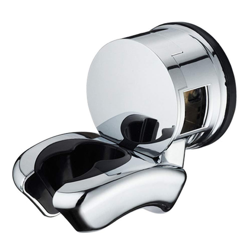 sin perforaci/ón soporte para alcachofas de ducha Soporte de cabezal de ducha con ventosa al vac/ío ventosa extra/íble soporte de pared de pl/ástico ABS