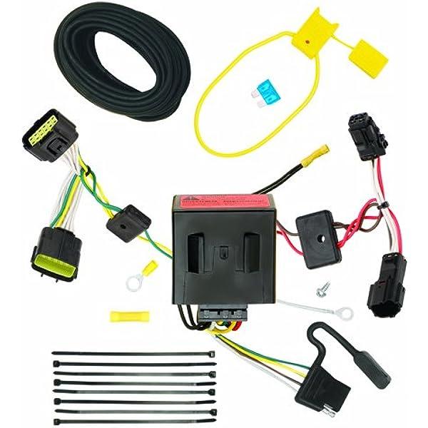 amazon.com: reese 118526 plug and play hitch wiring trailer lights fits  2011 kia sportage: automotive  amazon.com