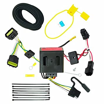 51 9rsDY2rL._SY355_ amazon com reese plug and play hitch wiring trailer lights fits kia sportage trailer wiring harness at gsmx.co