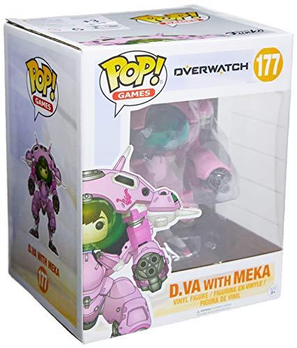 Funko POP Games: Overwatch D.VA & Meka 6
