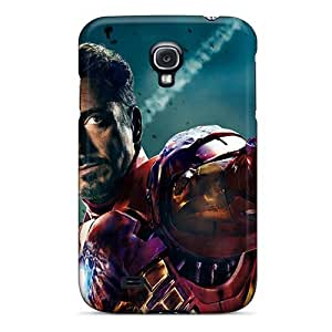 For Galaxy S4 Premium Case Cover Iron Man In Avengers Movie Protective Case