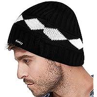 Knotyy Unisex Woolen Beanie Cap (Multicolor, Free Size)