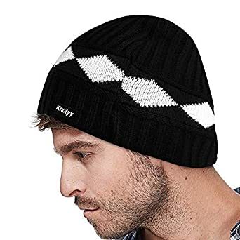af5a78dd894 Knotyy Unisex Woolen Beanie Cap (Multicolor