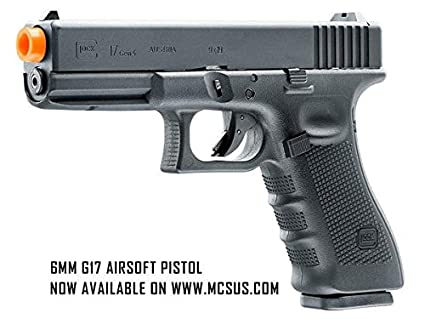 Rap4 GLOCK 17 Gen4 Gas Blowback 6mm Airsoft Pistol