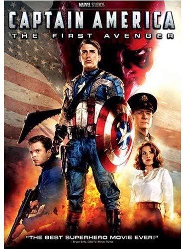 Captain America: The First - Dvd First Avenger