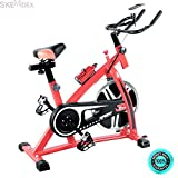 SKEMiDEX---Bicycle Cycling Exercise Bike Adjustable Gym Fitness Health Workout Home Indoor. Easy to operate and convenient to use, you can use it in office, home or other indoor places SKEMIDEX