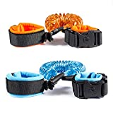 Anti Lost Wrist Link, Dr.Meter Toddles Safety Wrist Leash, Anti Lost Rope Walking Harness with Key Lock for Kids, Babies