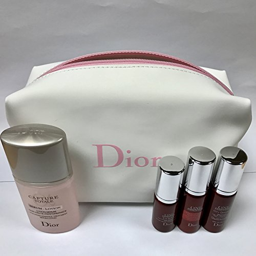 christian-dior-capture-totale-one-essential-set-with-lovely-white-pink-cosmetic-pouch