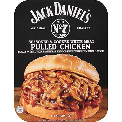 Completely Fresh Jack Daniels Pulled Chicken, 16 oz