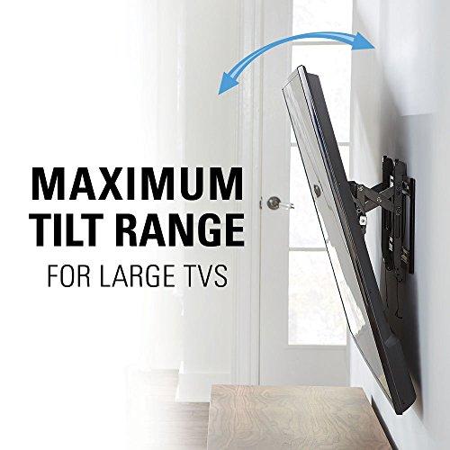 """51 9v 4hYTL - Sanus Advanced Tilt Premium TV Wall Mount Bracket for 46"""" – 90"""" flat-panel TVs - Extends 5.7"""" from the Wall - VLT6-B1"""