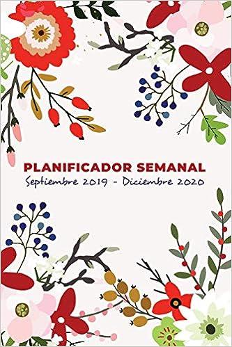 Planificador Semanal y Organizador Septiembre 2019 ...