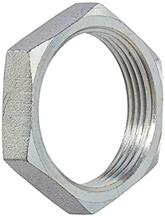 1-5//16-12 Thread 1 Tube OD 1.625 Hex Brennan Industries 0306-16 Steel Bulkhead Lock Nut 0.410 Width
